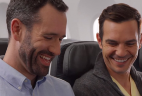 air canada gay couple